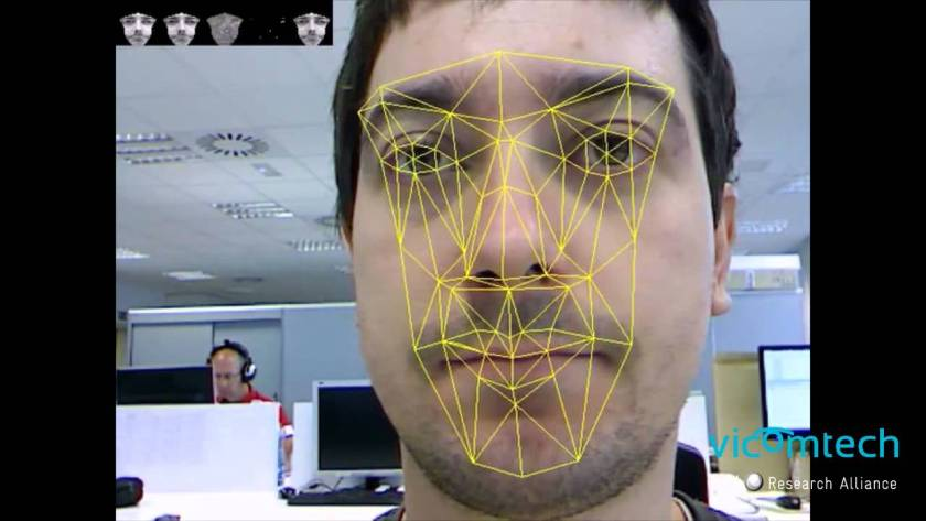 Real time facial recognition - Vicomtech