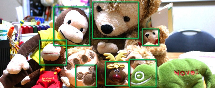 Facial recognition and stuffed animals